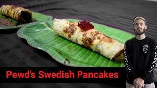 Pewdiepie&#39s Pancake  Swedish Pankcake recipe