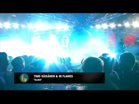 IN FLAMES & Timo Räisänen - Alias (Live Grammisgalan 2009)