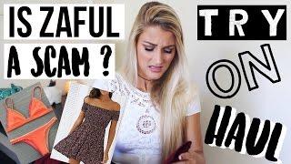 Is Zaful a SCAM? HAUL   TRY-ON | Tasha Farsaci