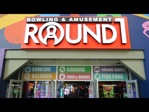 So much FUN at Round 1 Arcade!