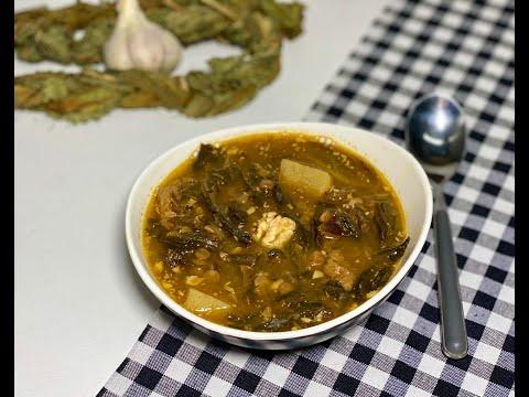Ավելուկով ապուր / Суп с авелуком / Sorrel Soup Recipe