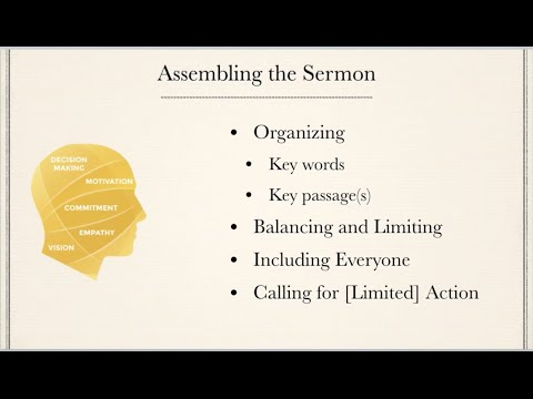 Webinar: Preparing Topical Sermons - YouTube