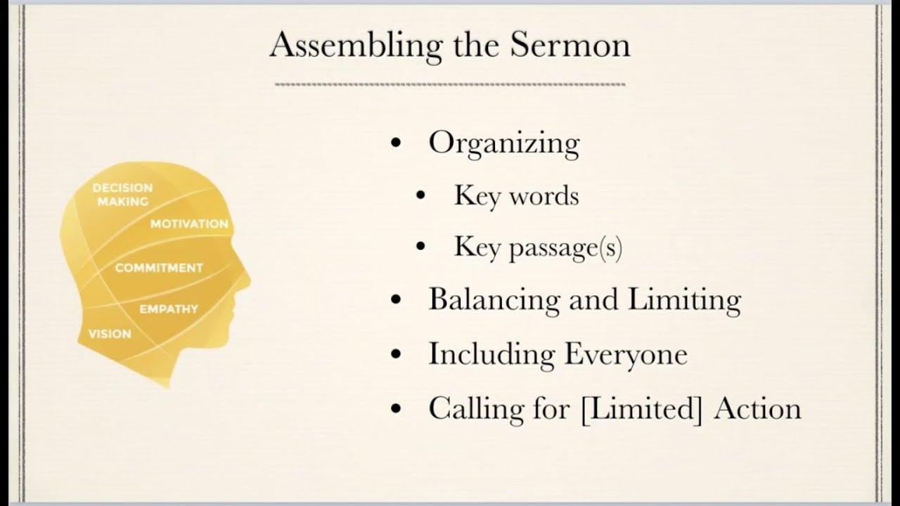 Webinar: Preparing Topical Sermons