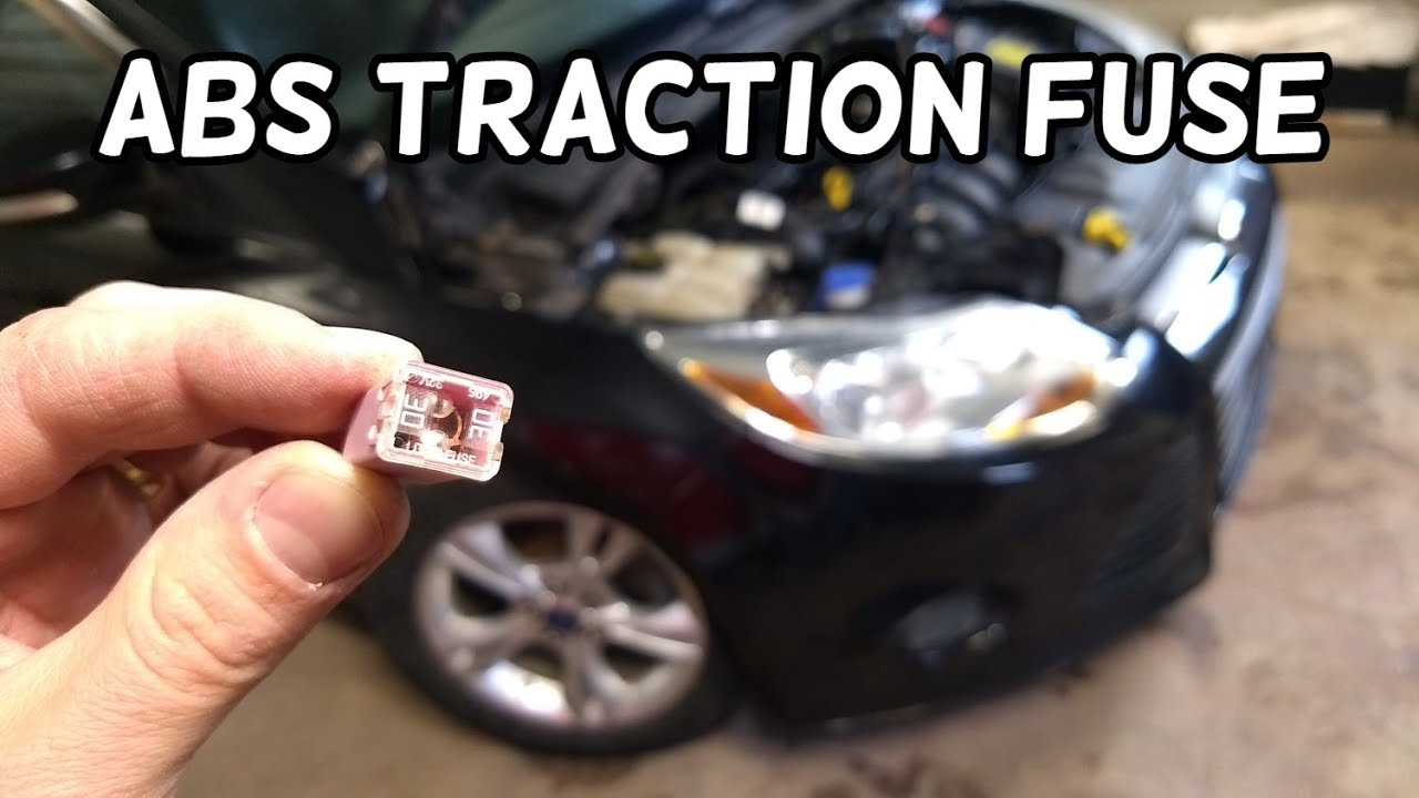 Abs Traction Control Fuse Location And Replacement Ford