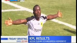 KPL Results: Kariobangi Sharks 1 - 3 Tusker FC