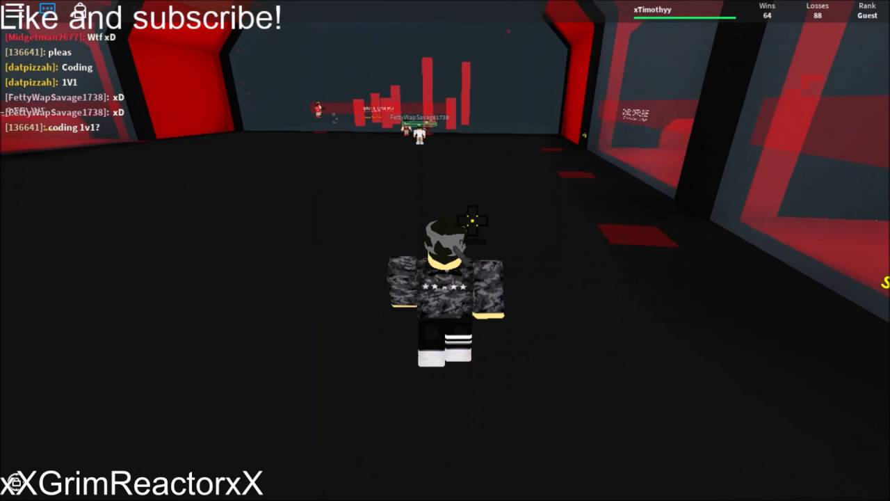 1v1 Sword Fighting At Abudiak Duels Roblox Youtube