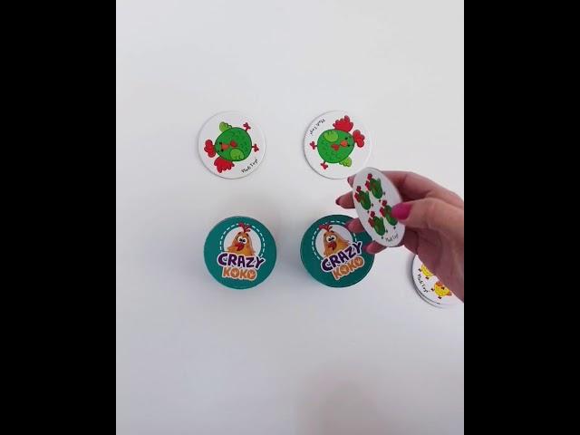 Vladi Toys VT8020-04 Настольная игра в тубусе Ку ка ре ку