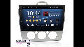 The SMARTY Trend head unit for Ford Focus II (2009-2011).
