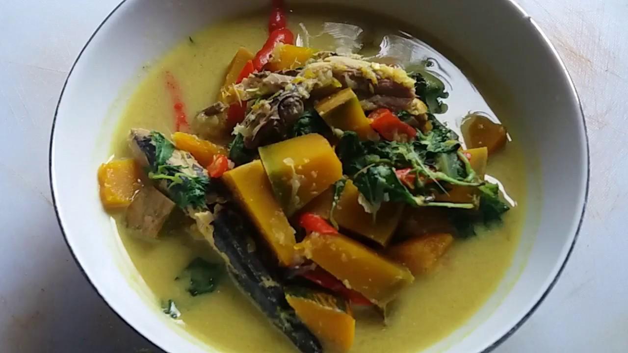 Resep Sayur Santan Labu Kuning Enak