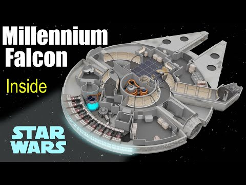 What's Inside The Millennium Falcon? (Star Wars)