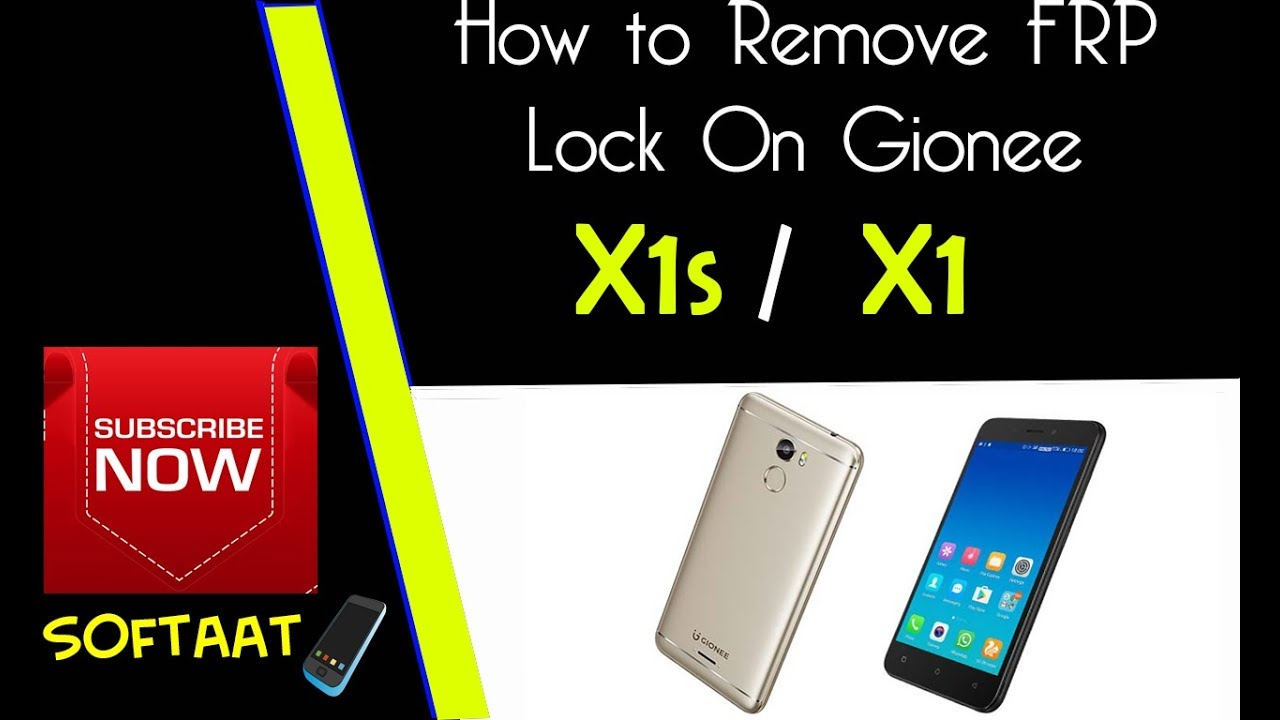 How to Remove FRP Lock On Gionee X1 Or X1s on Android 7 0 📲