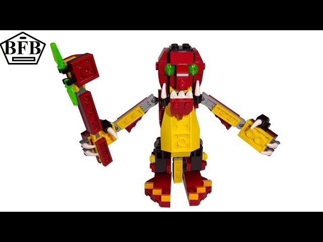 Lego Creator 31073 | Fabelwesen Drache (Riese) 3in1 | Lego Speed Build | Modell C
