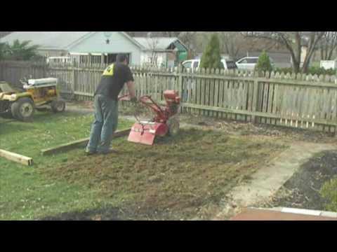 Tilling a New Garden