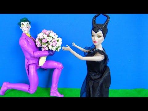 Joker Malefiz'e çiçek veriyor. Joker çiçekçi mi? Malefiz neden sinirlendi? Polis Mucize Uğur Böceği.