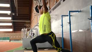 How to improve your sprint training by Jimmy Vicaut