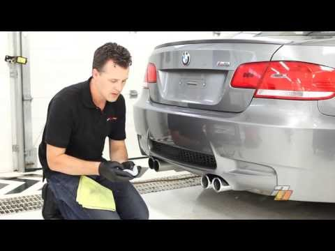 How to clean Exhaust Tips, cleaning and polishing car exhaust tips - by Auto Obsessed™
