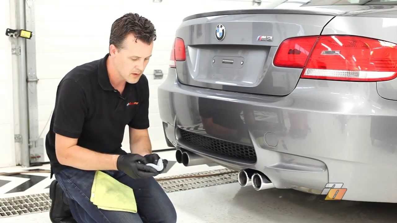 How To Clean Exhaust Tips Cleaning And Polishing Car 2007 Volvo C70 Fuel Filter Location By Auto Obsessed Youtube