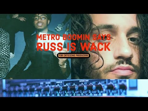 Metro Boomin CALLS OUT RUSS Says He Is Wack For Criticizing and Blaming Producers