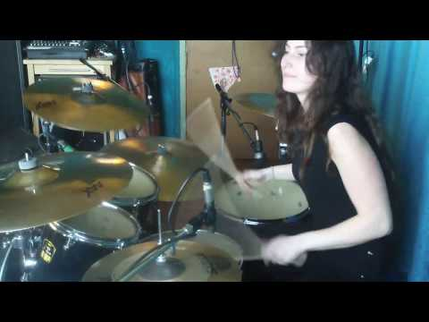 Julia Geaman Drum Playthrough for  'We Want Blood'