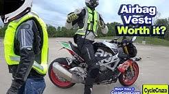 Motorcycle AIRBAG VEST: Is it Worth it? | Helite Turtle 2 Airbag Vest Review