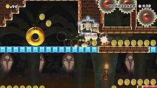 アクロバティックに決めようスピードラン60秒 SPEED RUN by ゆいと♪Z♪ - Super Mario Maker - No Commentary