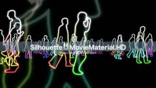 Silhouette MovieMaterial.HD フルハイビジョン動画素材集 ロイヤリティフリー フルハイビジョン 検索動画 27