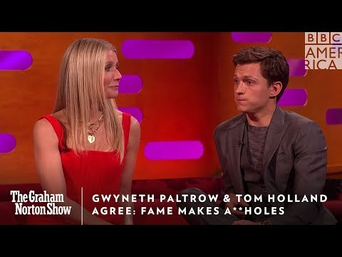 Gwyneth Paltrow & Tom Holland Agree Fame Makes You An A**hole | The Graham Norton Show | BBC America