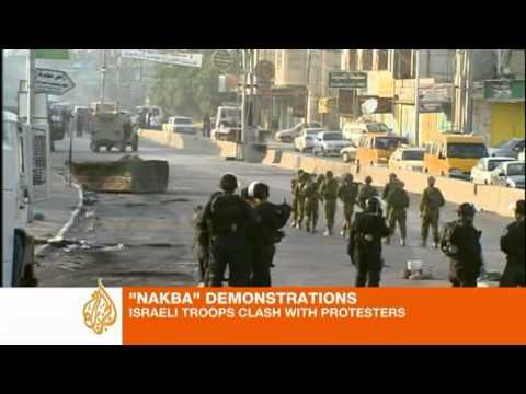 Palestinians killed at Nakba rally