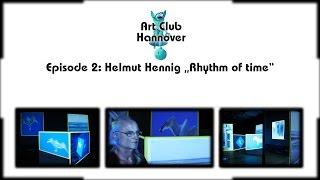 Art Club Hannover # 2: Helmut Hennigs Video Mapping (sous-titres français)