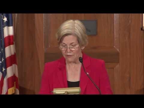Sen. Warren's Speech on the CFPB to CFED and Democracy Journal