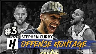 Stephen Curry CHAMPION Montage, Full Offense Highlights 2017-2018 (FINAL Part 3) - Playoff Mode!