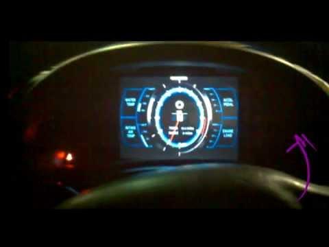 Touchscreen Celica LFA Dash Gauges