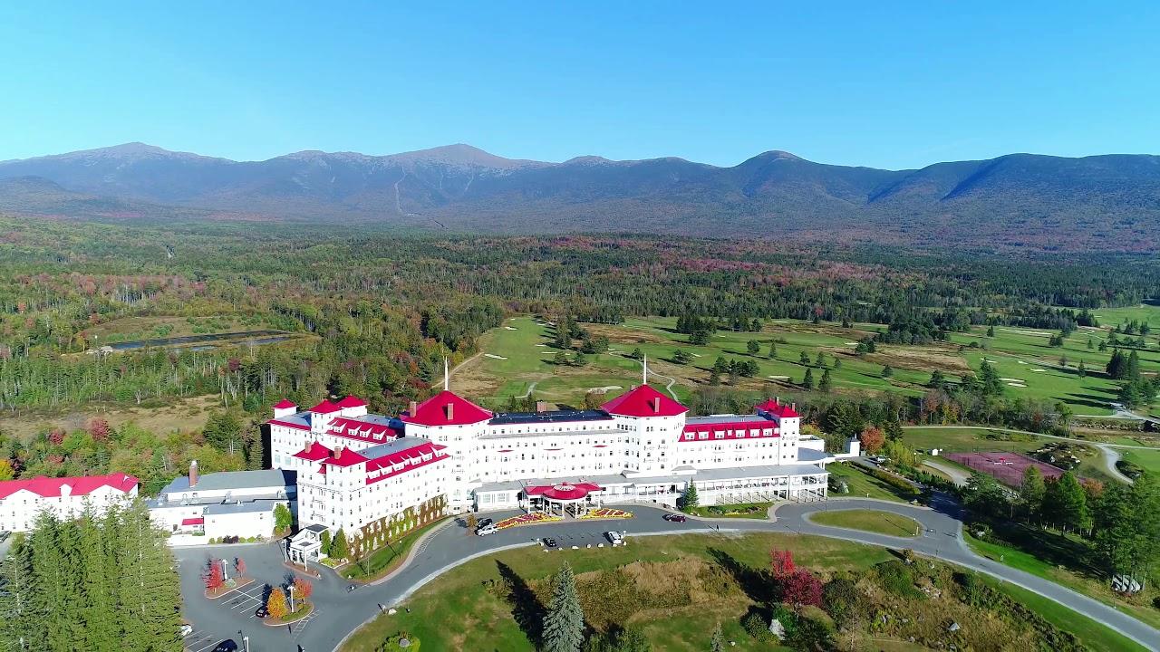 Twin Mountain Nh >> Fall Foliage Twin Mountain Bretton Woods Nh 10 3 17 Drone