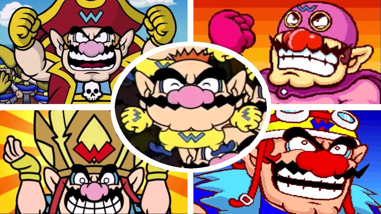 All Final Boss Stages in WarioWare Games (2003-2018)