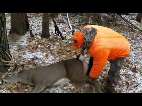 2019 Deer Hunting MN. MONSTER 9 Pointer Down!