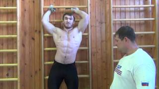 Klokov Dmitry & Aukhadov (Olimpic silver medalist in London 85 kg)