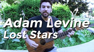 Adam Levine - Lost Stars (Guitar Lesson) by Shawn Parrotte
