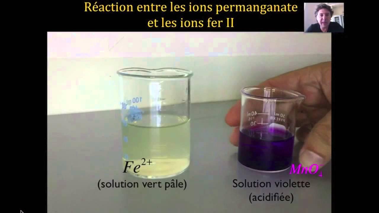 Oxydoreduction youtube - Dosage sulfate de cuivre piscine ...