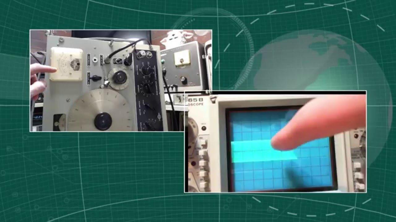Signal Generator Calibration Output : Signal generator ms c s video output level