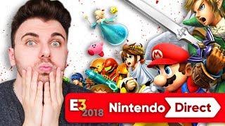 NINTENDO DIRECT E3 2018 - Smash Bros, Pokémon !