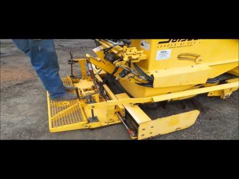 2013 Salsco Trackpaver TP411 asphalt paver for sale | no-reserve Internet auction April 28, 2016