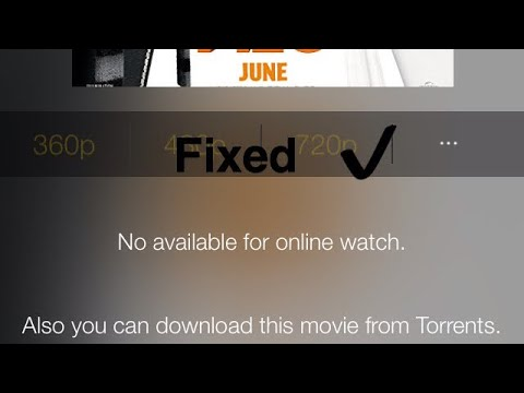 Tutorial: How to Fix Movie Box `Video Not Available` Error - No