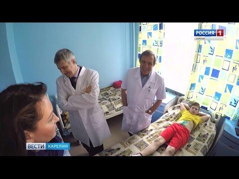 Парфенчиков посетил Детскую республиканскую больницу