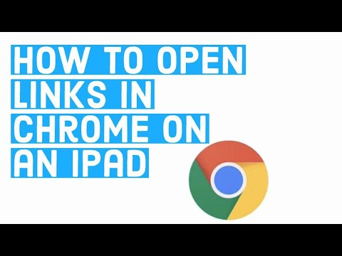 How To Open Links In Chrome On An IPad