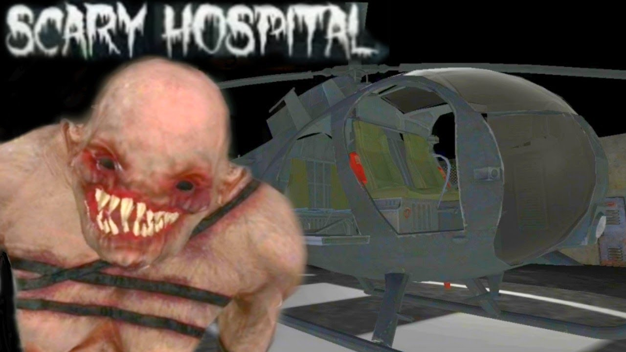 HELICOPTER ESCAPE! SCARY HOSPITAL 3D! Horror Game! Full Gameplay - Android
