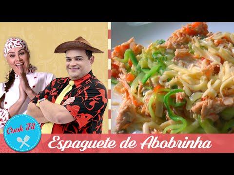 ESPAGUETE DE ABOBRINHA | COOK FIT | Matheus Ceará E Dani Iafelix