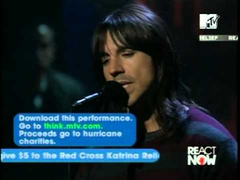 Red Hot Chili Peppers - Under The bridge (Live,