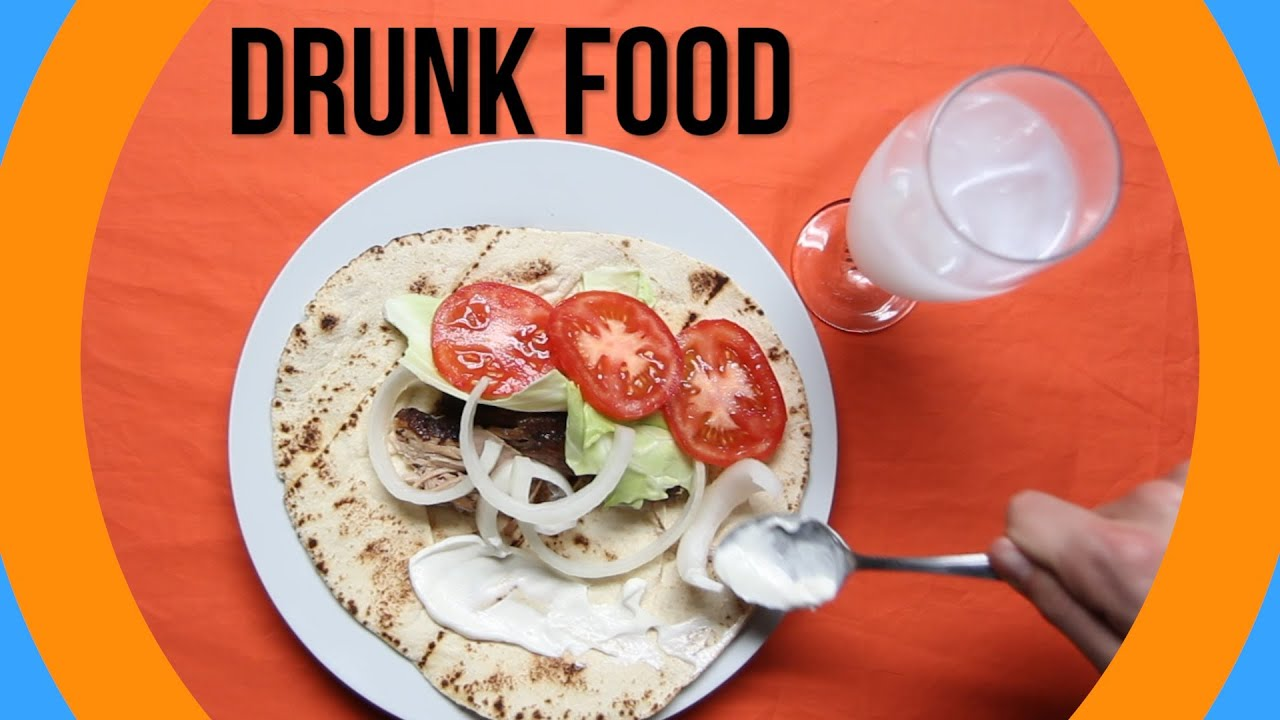 The Most Popular Drunk Foods Around The World - YouTube