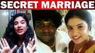 Yogu Babu's secret marriage !