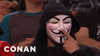 Anonymous Is Still Steamed At Conan  - CONAN on TBS